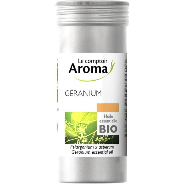 Huile essentielle géranium