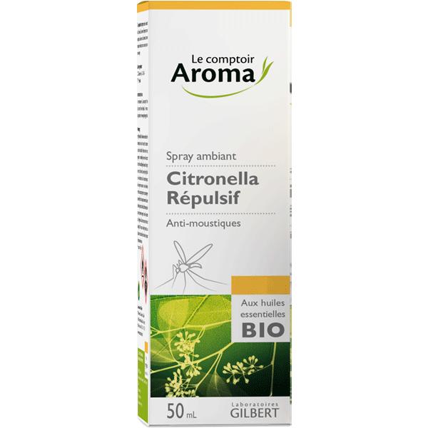 Spray ambiant répulsif Citronella