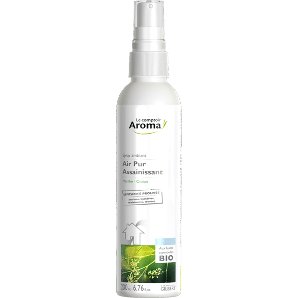 Spray assainissant menthe-citron